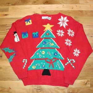 Nordstrom Vintage Ugly Christmas Sweater EUC